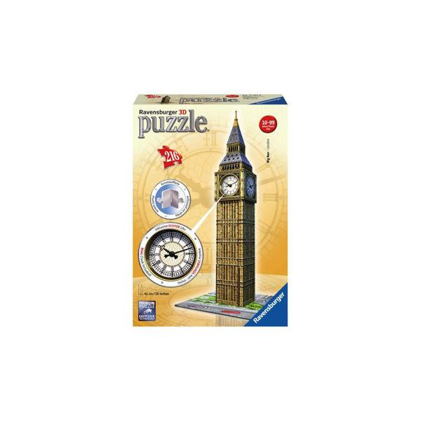 Ravensburger 3D Puzzle Big Ben Ρολόι (12586)