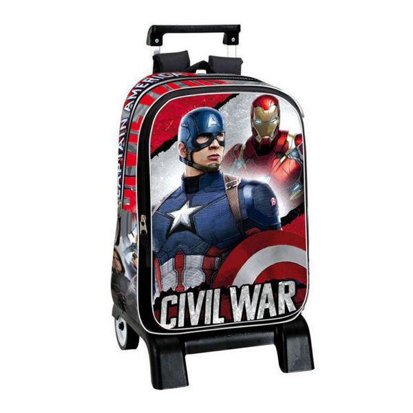 Captain America Trolley Δημοτικού (52663)
