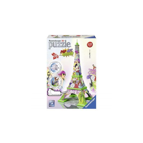 Ravensburger 3D Puzzle Eiffel Tower Pop Art (12598)