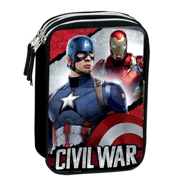 Captain America Κασετίνα Διπλή (52669)
