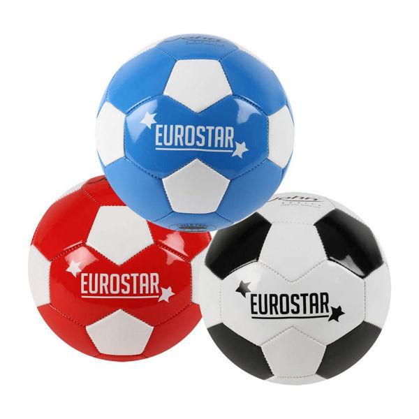 John-sports Μπάλα Ποδοσφαίρου Eurostar 3 Σχέδια (52985)