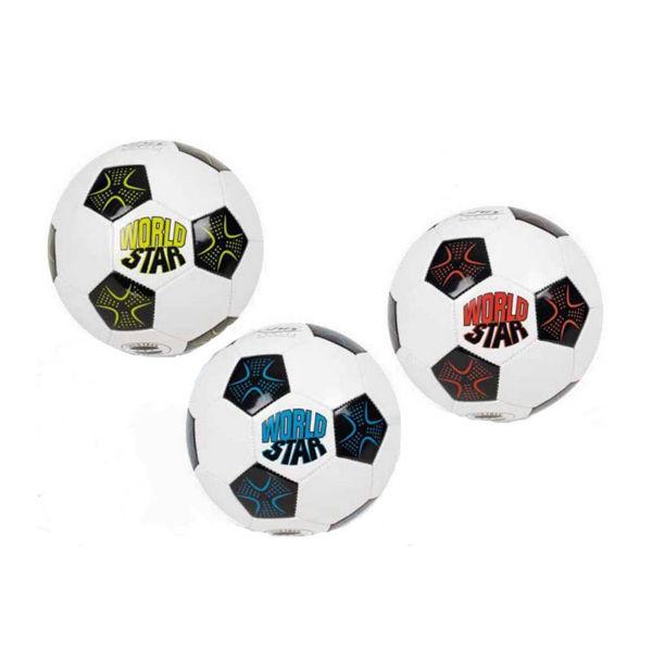 John-sports Μπάλα Ποδοσφαίρου World Star 3 Σχέδια (52984)