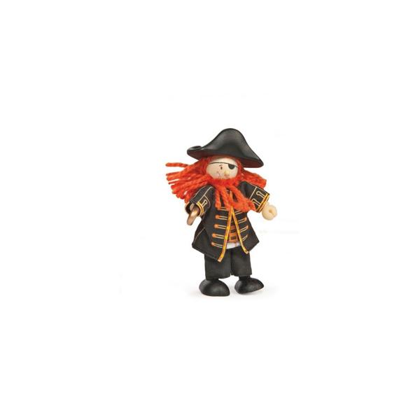 Le Toy Van Budkins Φιγούρα Πειρατής (BK998)
