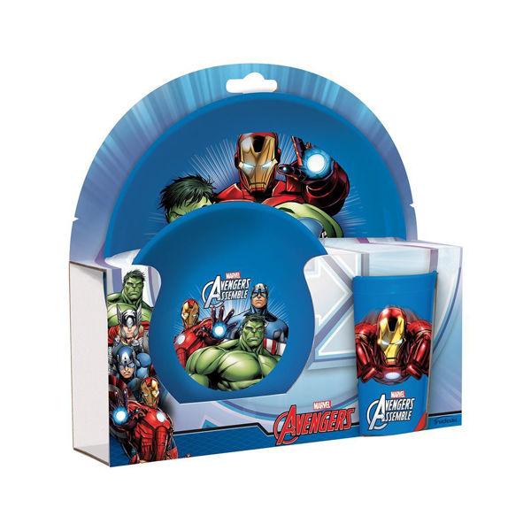 Avengers Assemble Σετ Φαγητού 3τεμ (TRU63556)