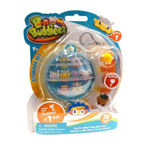 Bbuddieez Storage Kit 1 Ball 3 Buddieez (15007)
