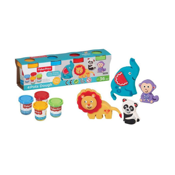 Fisher Price Play Dough 4τεμ (03236)