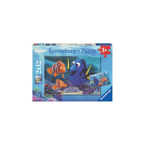 Ravensburger Puzzle 2x12τεμ Dory (76017)