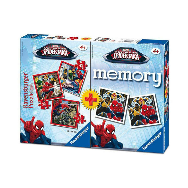 Ravensburger Memory & 3 Puzzles Spiderman (07359)