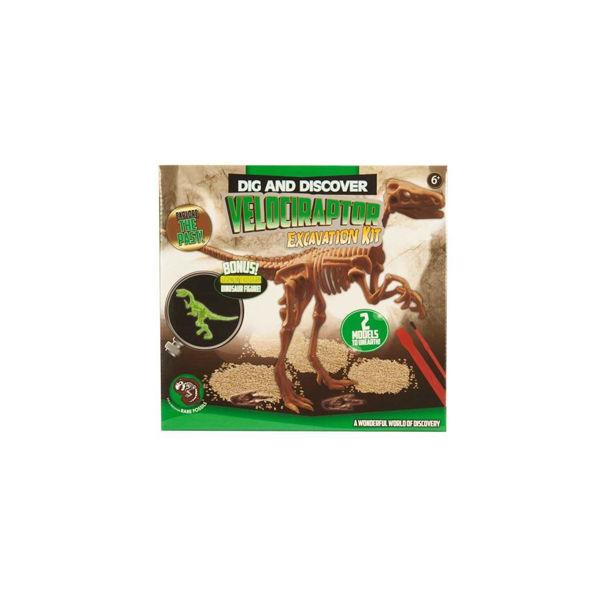 Excavation Kit Velociraptor (MPF43312)