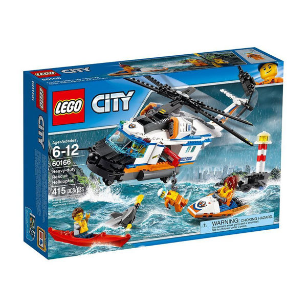 Lego City Heavy-Duty Rescue Helicopter (60166)