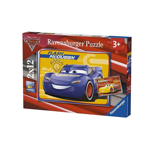 Ravensburger Puzzle 2x12 Cars 3 (07614)