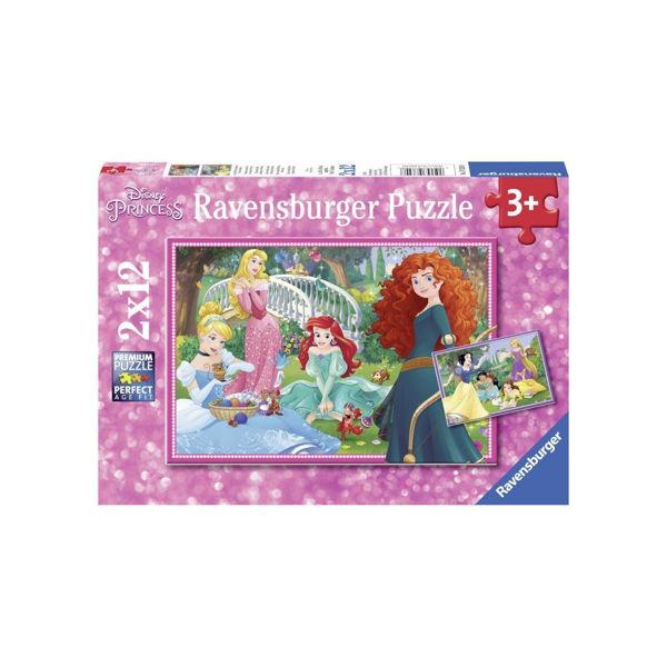 Ravensburger Puzzle 2x12 Disney Princess (07620)