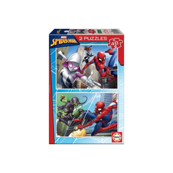 Educa Puzzles 2x48 Spiderman (18099)