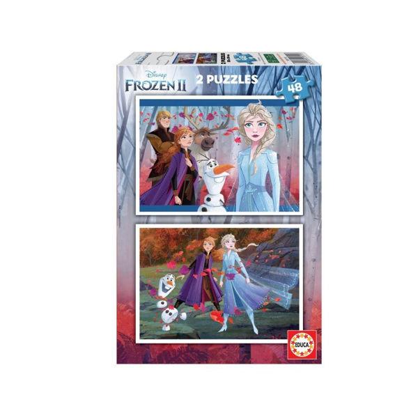 Educa Puzzles 2x48 Frozen (18110)