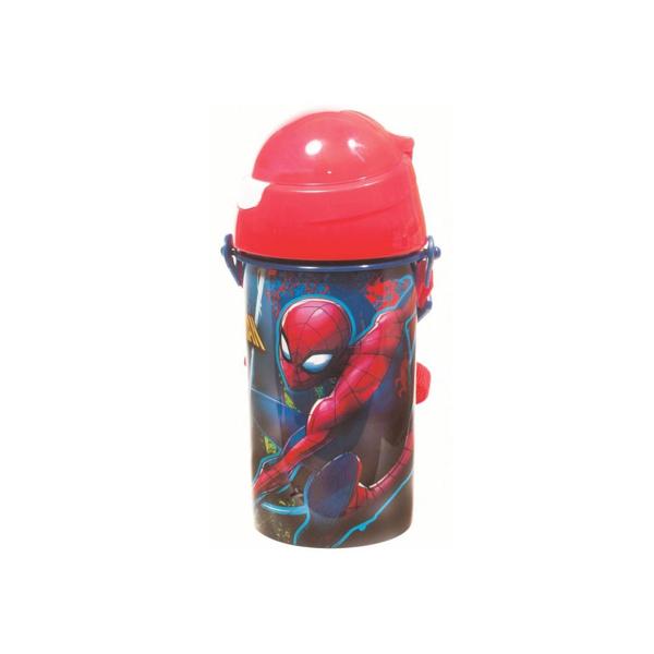 Spiderman Παγούρι Καλαμάκι (557-38209)
