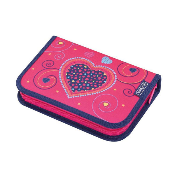 Herlitz Κασετίνα Γεμάτη Pink Hearts (50014347)