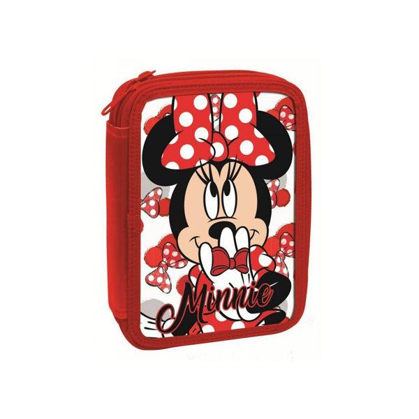 Minnie Mouse Κασετίνα Διπλή Γεμάτη (340-54100)