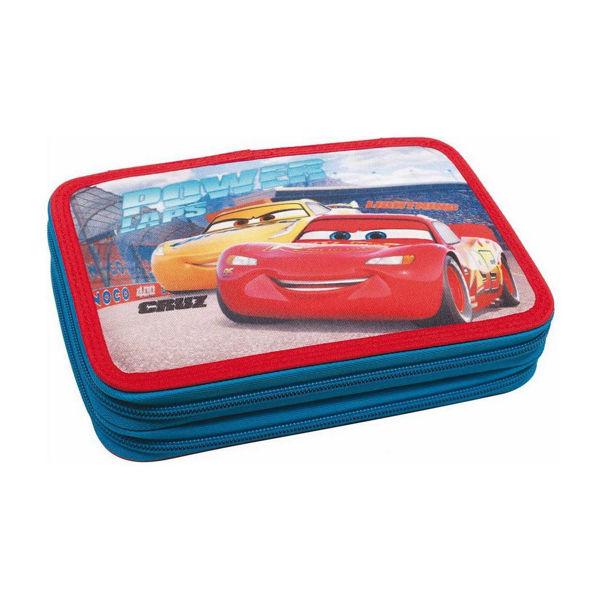 Cars Κασετίνα Διπλή Γεμάτη (341-41100)