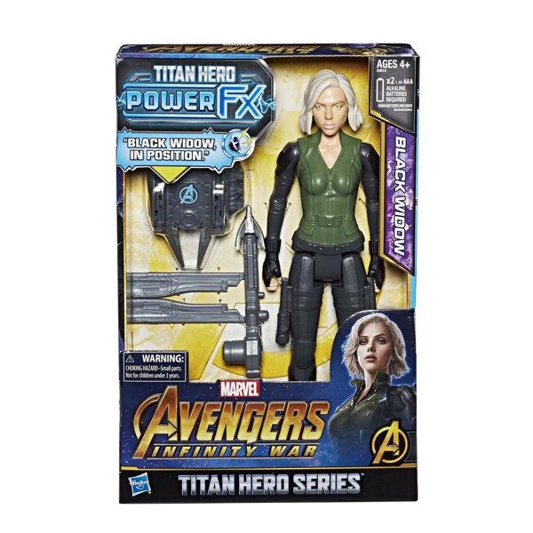Avengers Infinity War Titan Hero Power Black Widow (E0614)