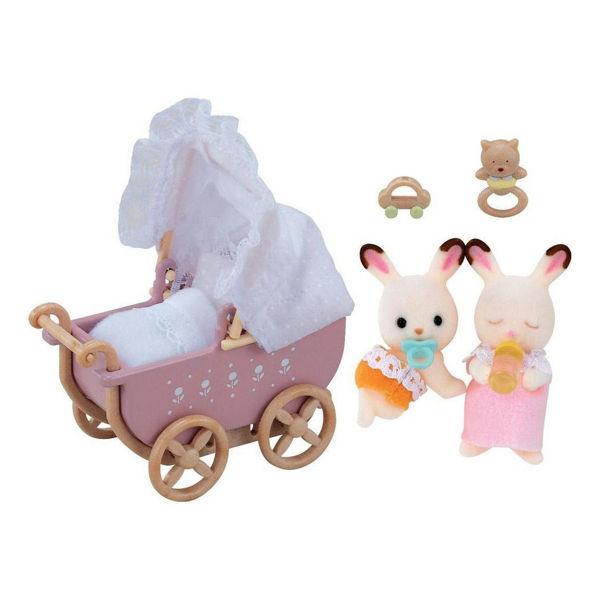 Sylvanian Families Chocolate Rabbit Twins Set (5018)