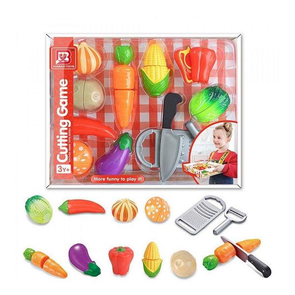 Λαχανικά Με Βέλκρο Σε Δίσκο Μεταφοράς (292282)