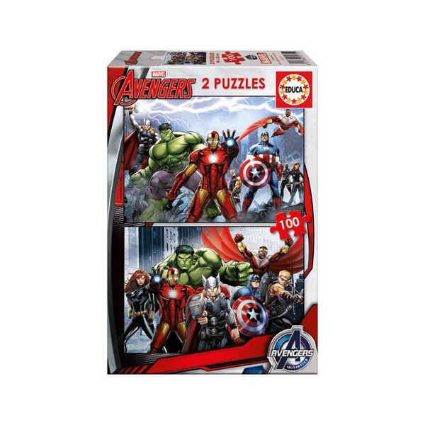 Educa Puzzle 2x100 Avengers (15771)