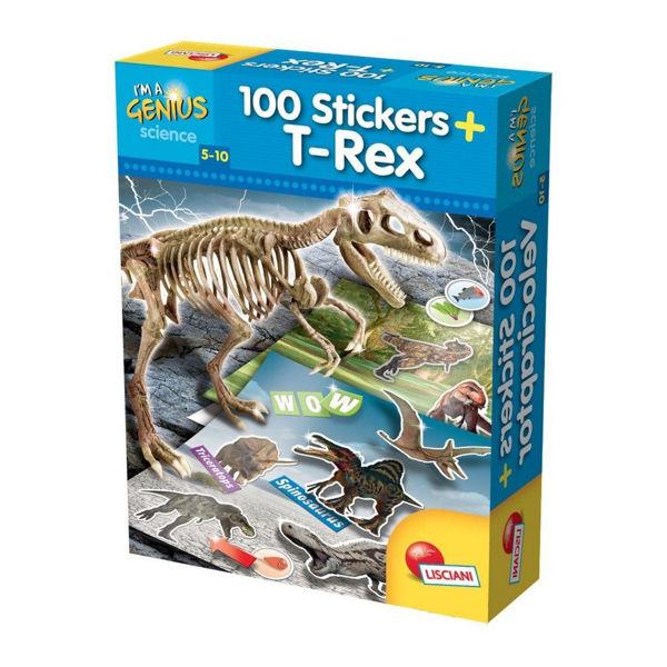 Μικροί Επιστήμονες T-Rex +100 Stickers (59775)