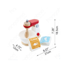 Hape Mix & Bake Blender (E3147)