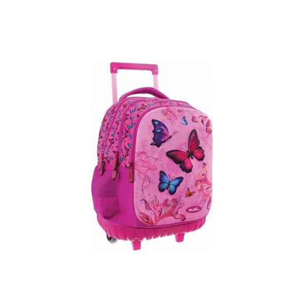 Must Trolley Δημοτικού 3D Πεταλούδες (0579542)