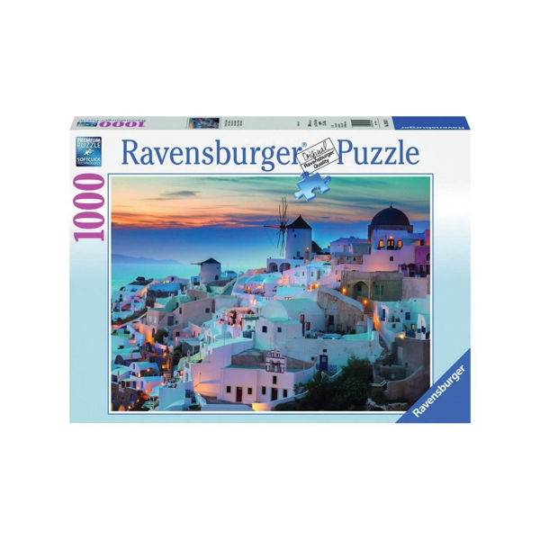 Ravensburger Puzzle 1000τεμ Evening In Santorini (19611)
