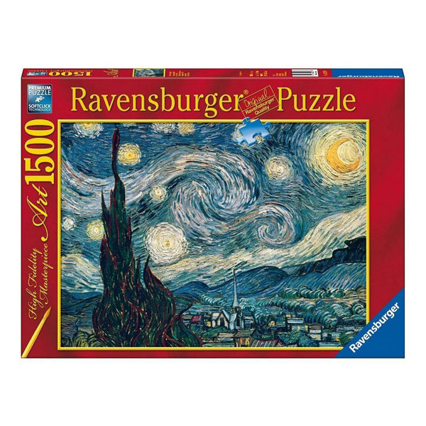 Ravensburger Puzzle 1500τεμ Starry Night Vincent Van Gogh (16207