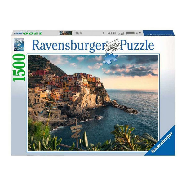 Ravensburger Puzzle 1500τεμ Cinque Terre Vierpoint (16227)