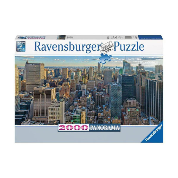 Ravensburger Puzzle 2000τεμ View Over New York (16708)
