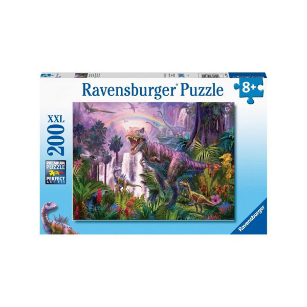 Ravensburger Puzzle 200τεμ King Of The Dinosaurs (12892)