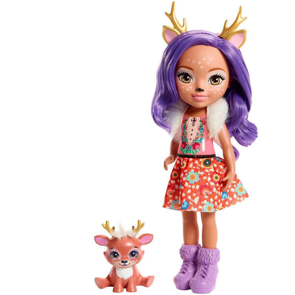 Enchantimals Μεγάλη Κούκλα Danessa Deer & Sprint (FRH54)