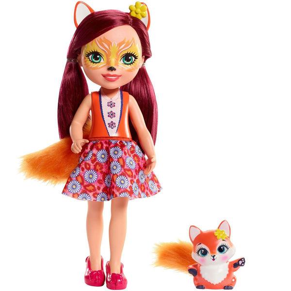 Enchantimals Μεγάλη Κούκλα Felicity Fox & Flick (FRH53)