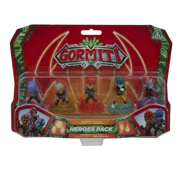 Gormiti S2 Φιγούρες Ηρώων 5εκ (GRE06000)