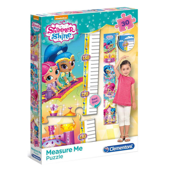 Clementoni Puzzle Measure Me 30τεμ Shimmer & Shine (20322)