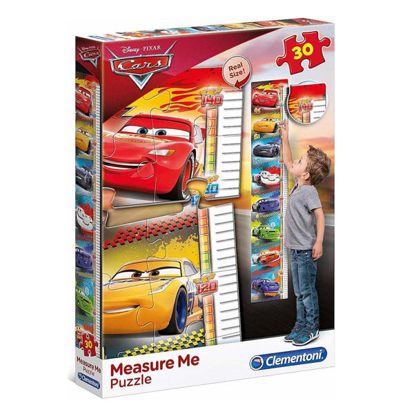 Clementoni Puzzle Measure Me 30τεμ Cars (20324)