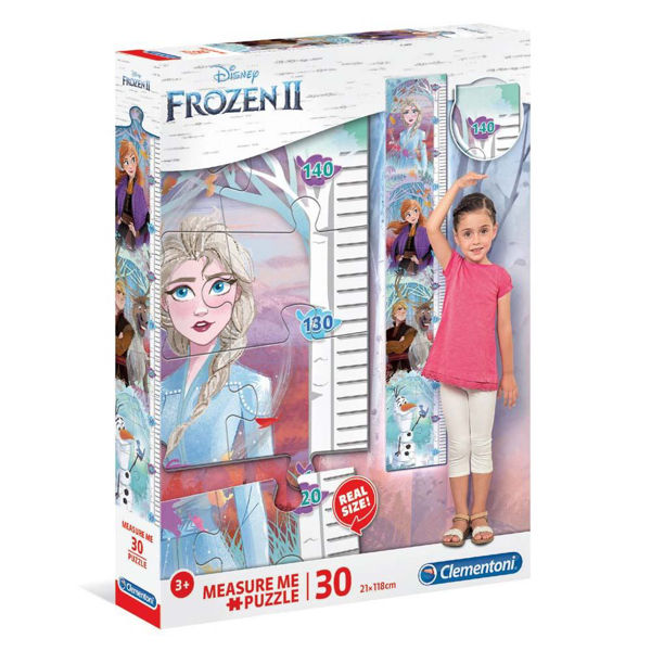 Clementoni Puzzle Measure Me 30τεμ Frozen II (20331)