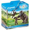 Playmobil Family Fun Οικογένεια Από Γορίλες (70360)