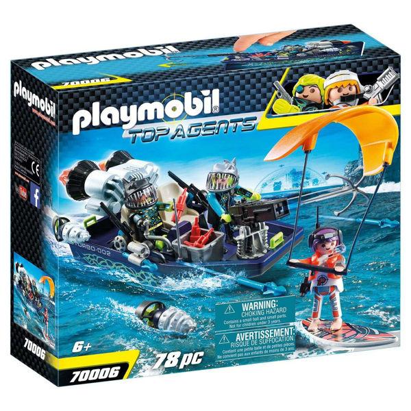 Playmobil Ταχύπλοο Σκάφος Της Shark Team (70006)