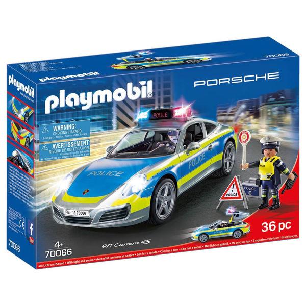 Playmobil Porsche 911 Carrera 4S Αστυνομικό Όχημα (70066)