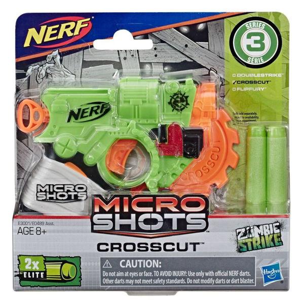 Nerf Zombie Strike Microshots 3 Σχέδια (E0489)