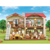 Sylvanian Families Διώροφο Σπίτι Με Κόκκινα Κεραμίδια (5302)