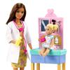 Barbie Παιδίατρος Με Καφέ Μαλλιά (GTN52)