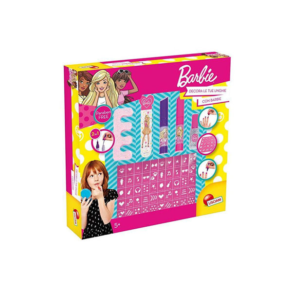 Lisciani Barbie Decorate Your Nails With Barbie (62171)