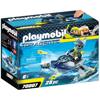 Playmobil Top Agents Aqua Scooter Της Shark Team (70007)