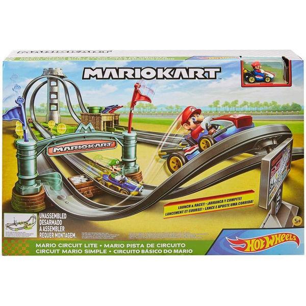 Hot Wheels Mario Kart Πίστα Ταχύτητας Με Εμπόδια (GHK15)