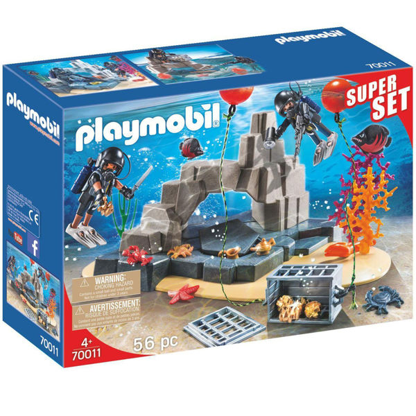 Playmobil Super Set Ομάδα Υποβρύχιων Αποστολών (70011)